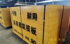 施工工程专用木模板