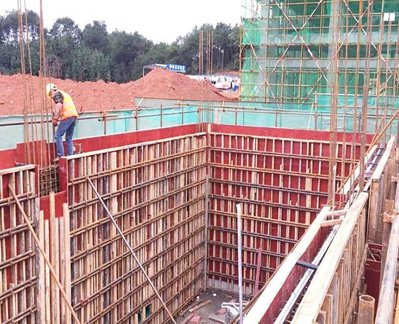 建筑模板在工程中