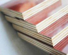 不同胶水的建筑模板质量不同!