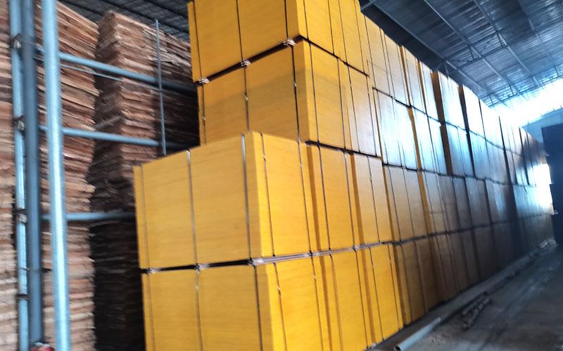 使用好材料生产的建筑模板